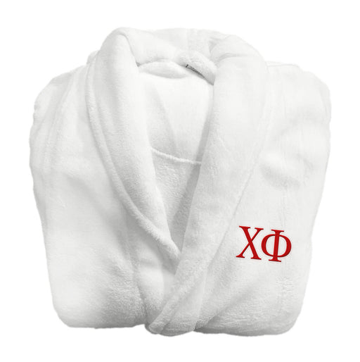 Chi Phi Greek Letter Bathrobe