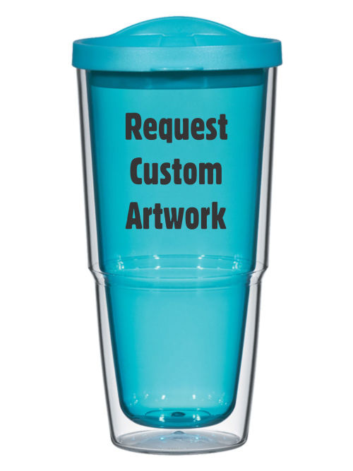 Drinkware Custom 24oz Biggie Tumbler with Lid