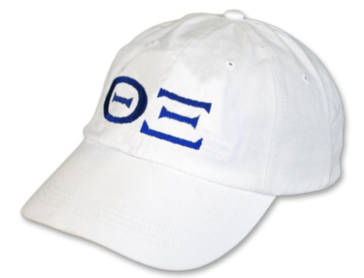 Theta Xi Greek Letter Embroidered Hat