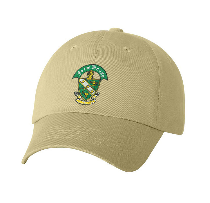 Farmhouse Crest Baseball Hat