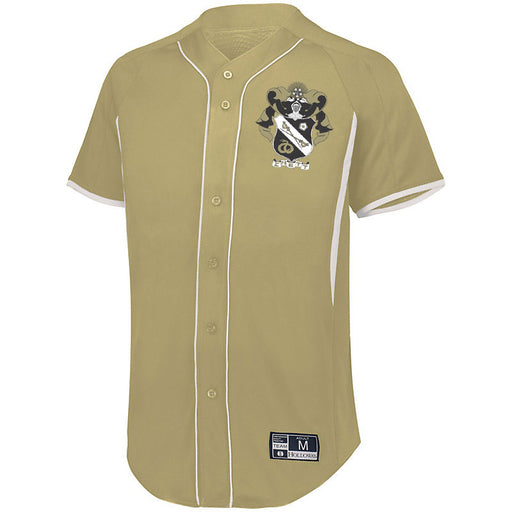 Sigma Nu 7 Full Button Baseball Jersey