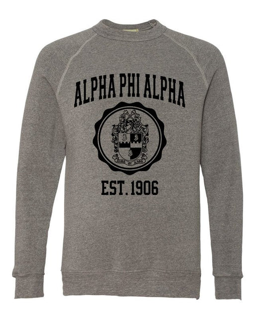 Alpha Phi Alpha Alternative Eco Fleece Champ Crewneck Sweatshirt