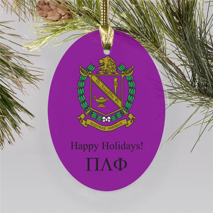 Pi Lambda Phi Color Crest Ornament