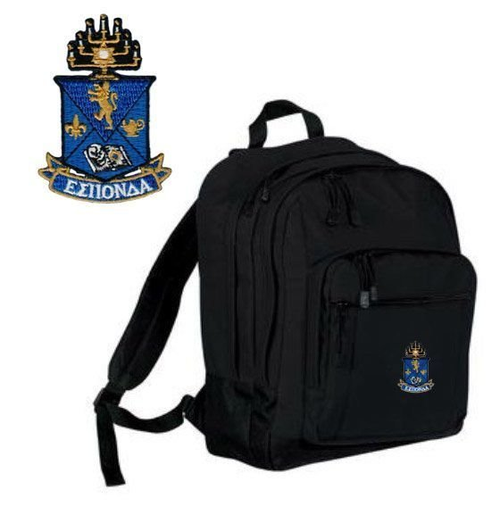 Alpha Epsilon Pi Crest Backpack