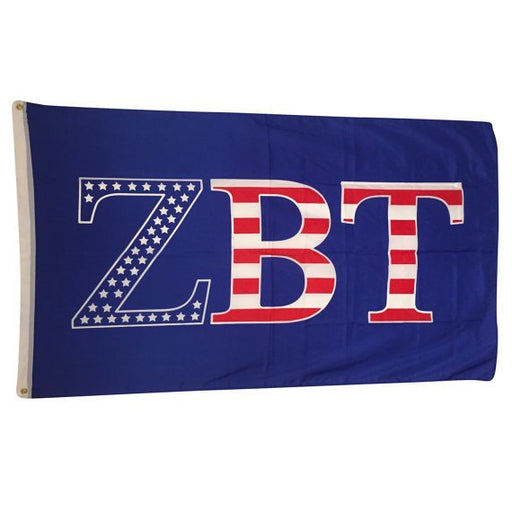 Zeta Beta Tau Patriotic Flag