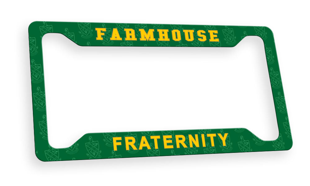 Farmhouse New License Plate Frame