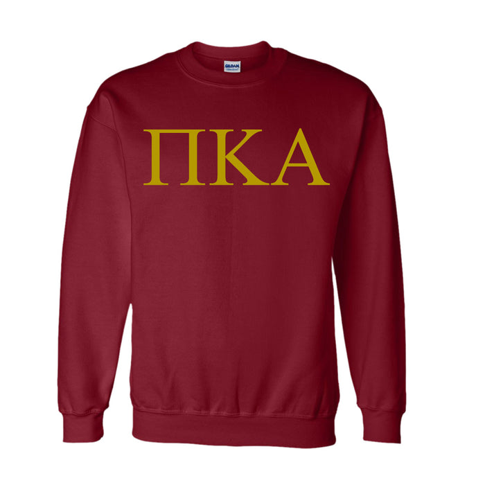 Pi Kappa Alpha World Famous Lettered Crewneck Sweatshirt