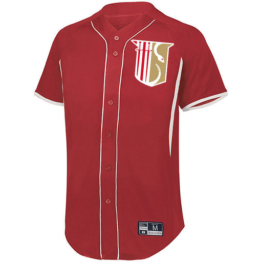 Theta Chi 7 Full Button Baseball Jersey