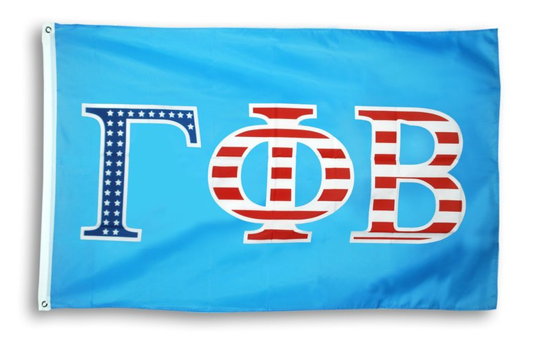 Gamma Phi Beta Patriotic Flag