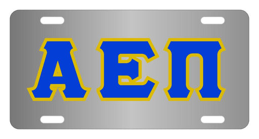Alpha Epsilon Pi Fraternity License Plate Cover