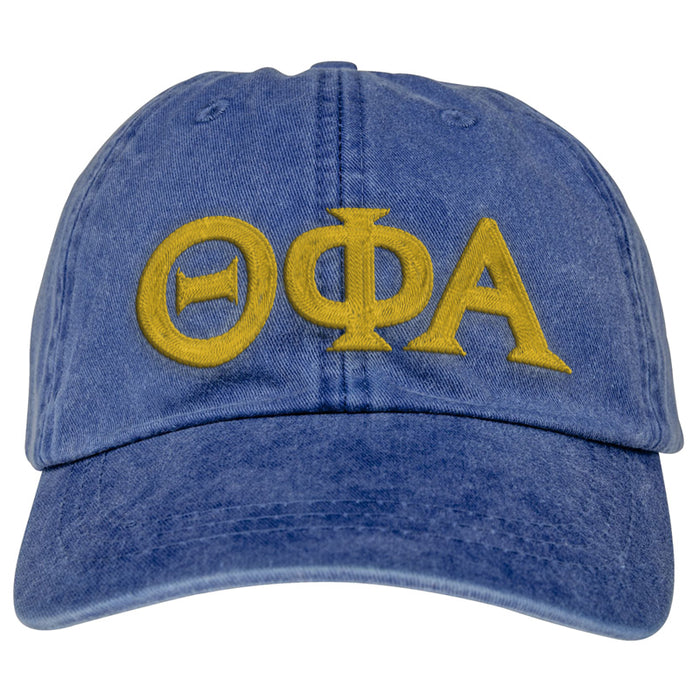 Theta Phi Alpha Greek Letter Embroidered Hat