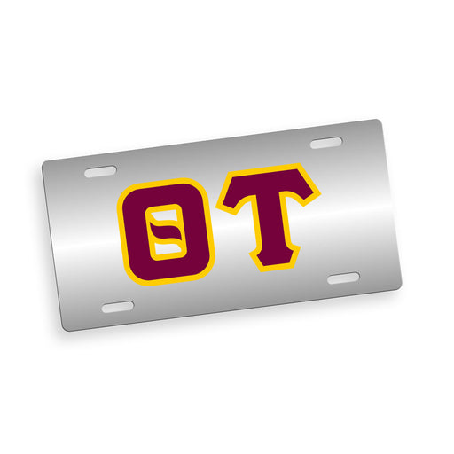 Theta Tau Fraternity License Plate Cover