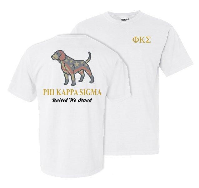 Phi Kappa Sigma Stand Tall Comfort Colors Heavy Tee