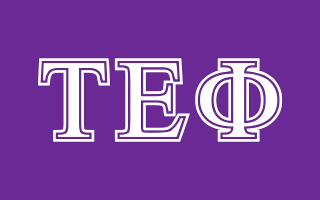 Tau Epsilon Phi Fraternity Flag Sticker