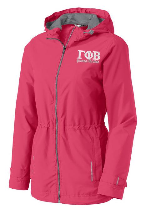Gamma Phi Beta Embroidered Ladies Northwest Slicker