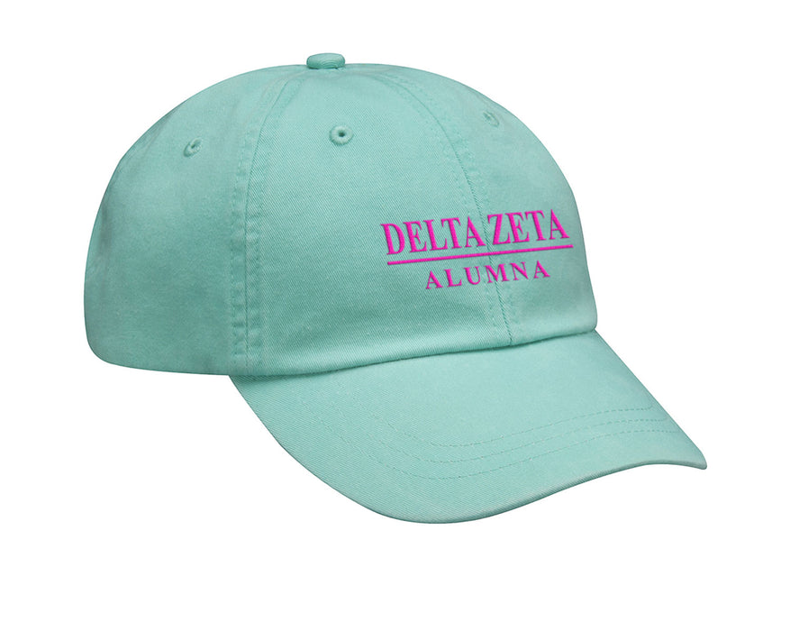 Delta Zeta Line Year Embroidered Hat