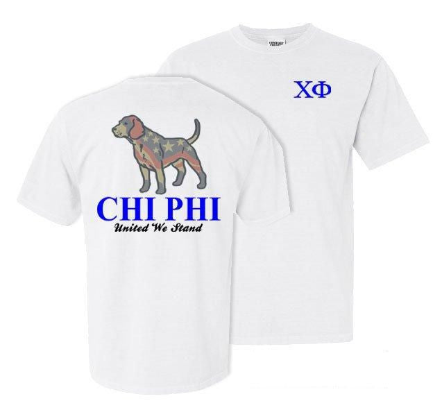 Chi Phi Stand Tall Comfort Colors Heavy Tee