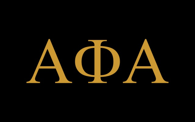 Alpha Phi Alpha Fraternity Flag Sticker
