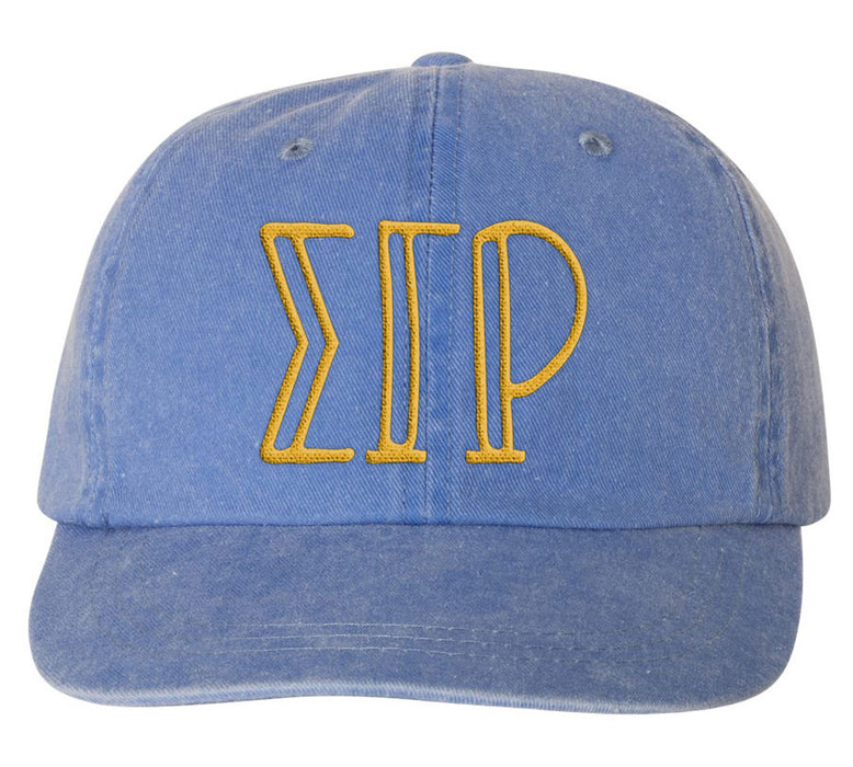 Sigma Gamma Rho Sorority Greek Carson Embroidered Hat