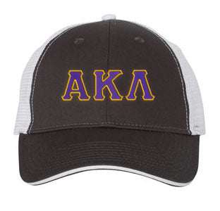 Alpha Kappa Lambda Greek Trucker Cap