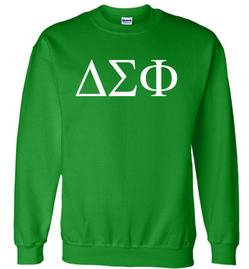 Delta Sigma Phi World Famous Lettered Crewneck Sweatshirt