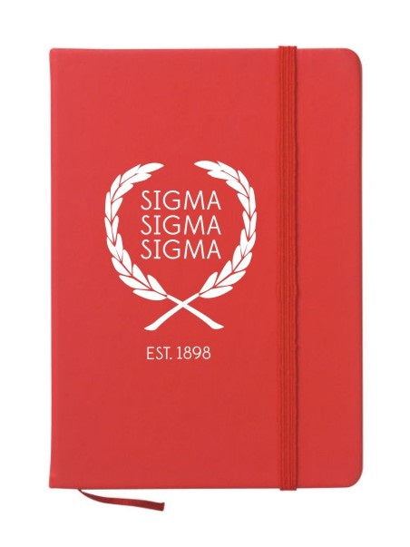 Sigma Sigma Sigma Laurel Notebook