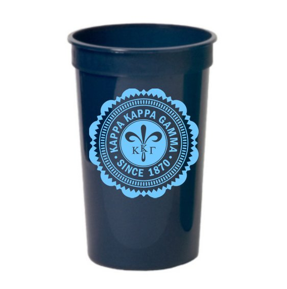 Kappa Kappa Gamma Classic Oldstyle Giant Plastic Cup