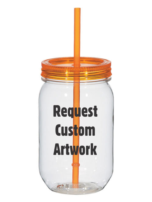 Gamma Alpha Omega Custom 25oz Mason Jar