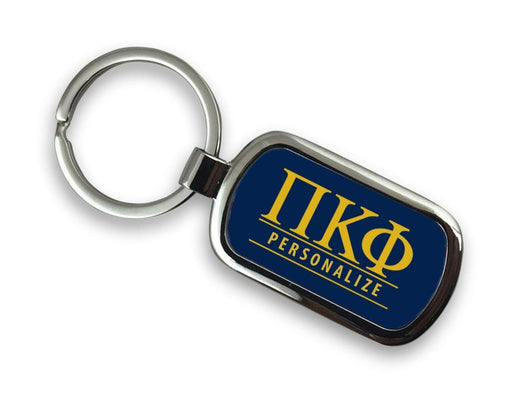 Pi Kappa Phi Chrome Key Chain