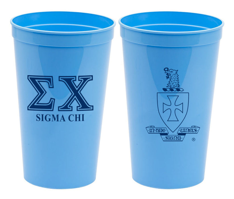 Sigma Chi Fraternity New Crest Stadium Cup