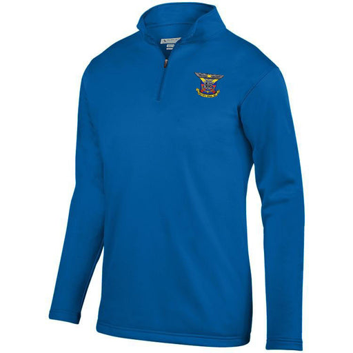 Delta Kappa Epsilon Crest Moisture Wicking Fleece Pullover