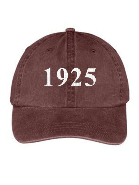 Alpha Delta Chi Year Established Embroidered Hat