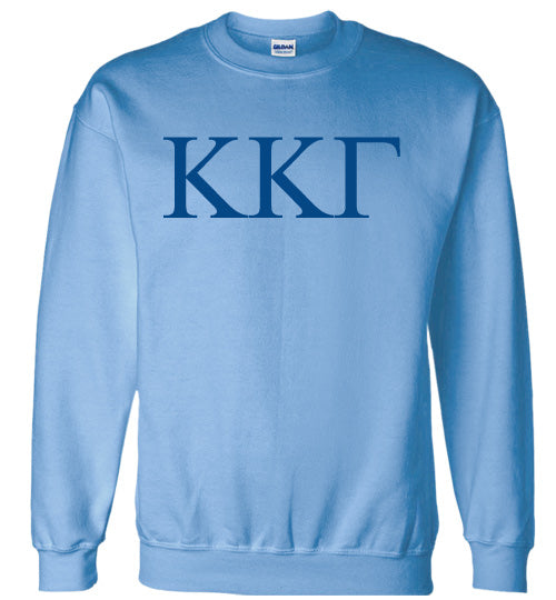 Kappa Kappa Gamma World Famous Lettered Crewneck Sweatshirt