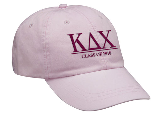 Kappa Delta Chi Embroidered Hat with Custom Text