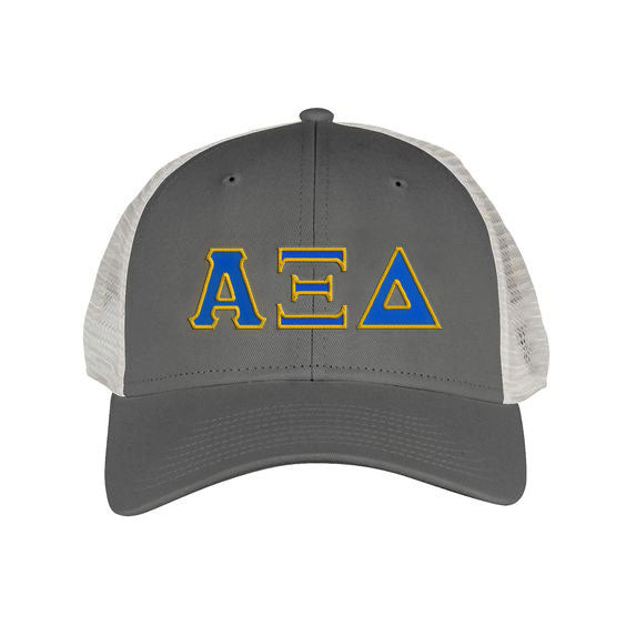 Alpha Xi Delta Greek Trucker Cap