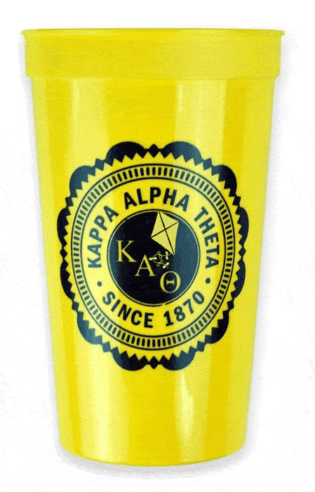 Kappa Alpha Theta Classic Oldstyle Giant Plastic Cup