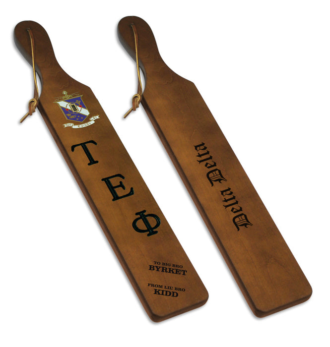 Tau Epsilon Phi Traditional Paddle