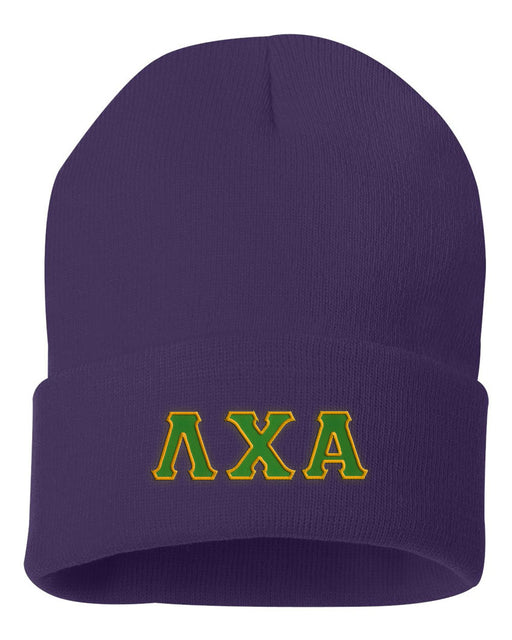 Lambda Chi Alpha Lettered Knit Cap