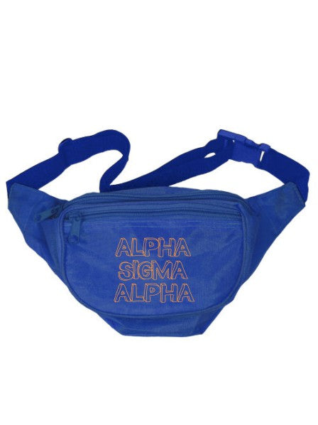 Alpha Sigma Alpha Million Fanny Pack