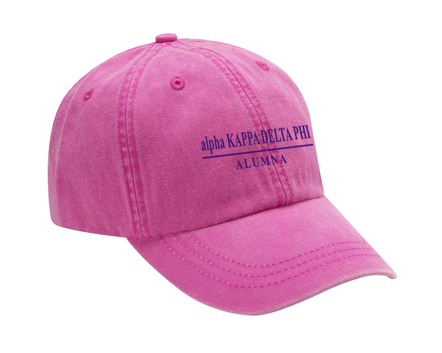 Alpha Kappa Delta Phi Line Year Embroidered Hat