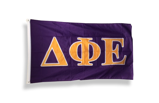 Delta Phi Epsilon Big Flag