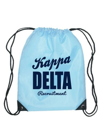 Kappa Delta Cursive Impact Sports Bag