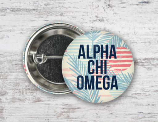 Sorority Paradise Found Button