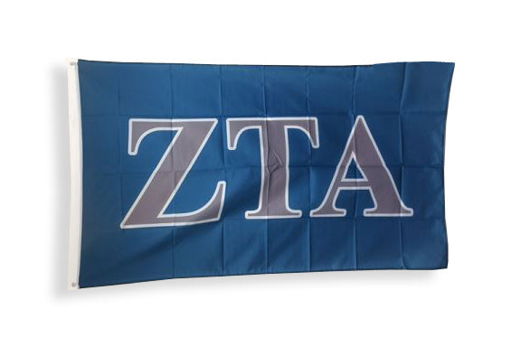 Zeta Tau Alpha Big Flag