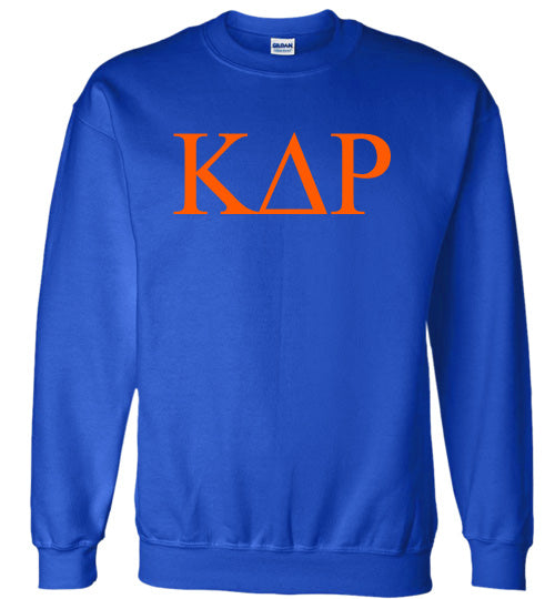 Kappa Delta Rho World Famous Lettered Crewneck Sweatshirt