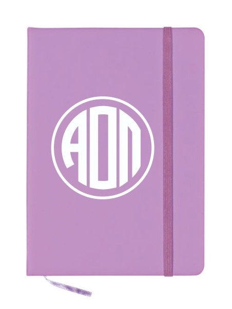 Alpha Omicron Pi Monogram Notebook