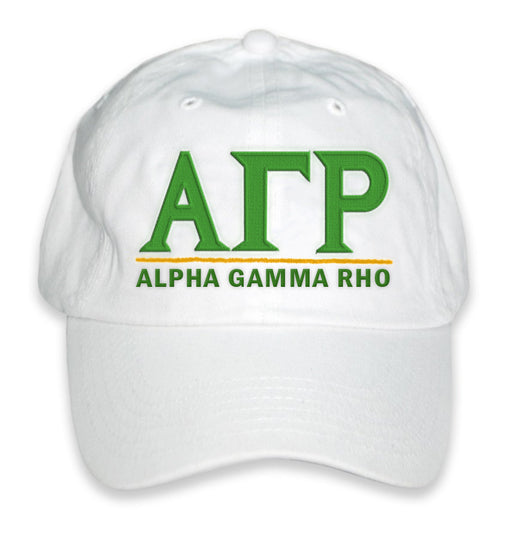 Alpha Gamma Rho Best Selling Baseball Hat
