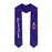 Phi Gamma Delta Lettered Graduation Sash Stole with Crest