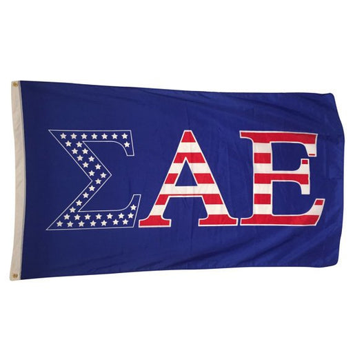 Sigma Alpha Epsilon Patriotic Flag