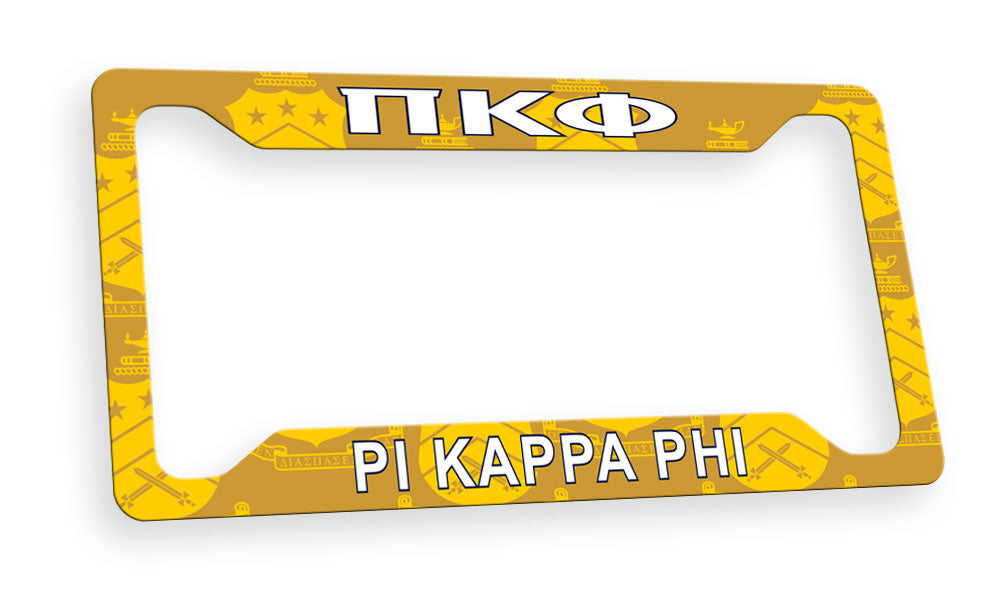 Pi Kappa Phi New License Plate Frame